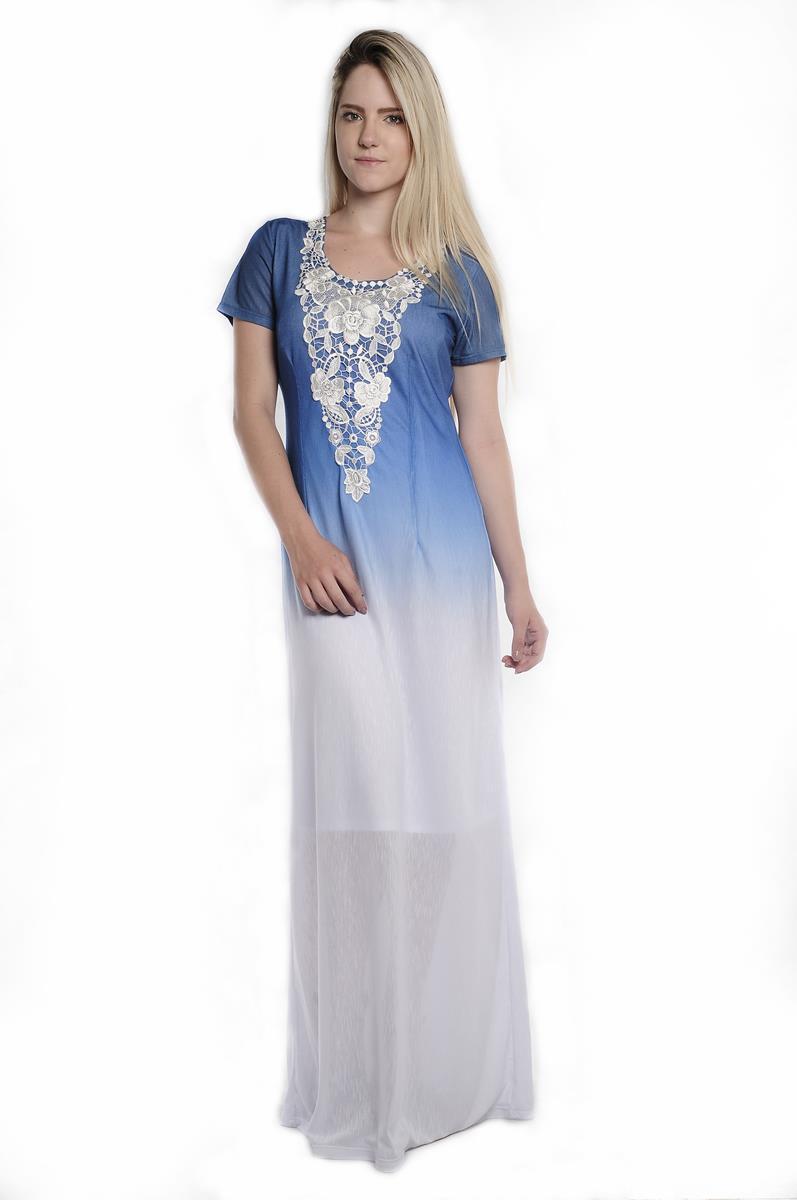 Vestido Longo Cassia 907