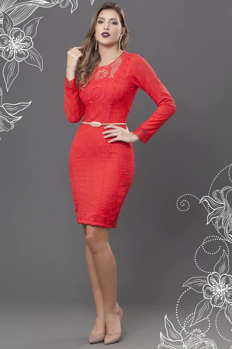Vestido Bella Herança Barrow 6507