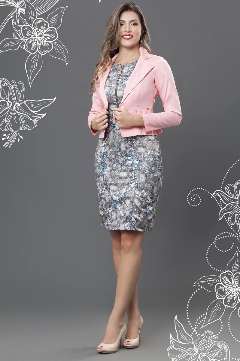 Vestido Bella Herança Osaka 6513