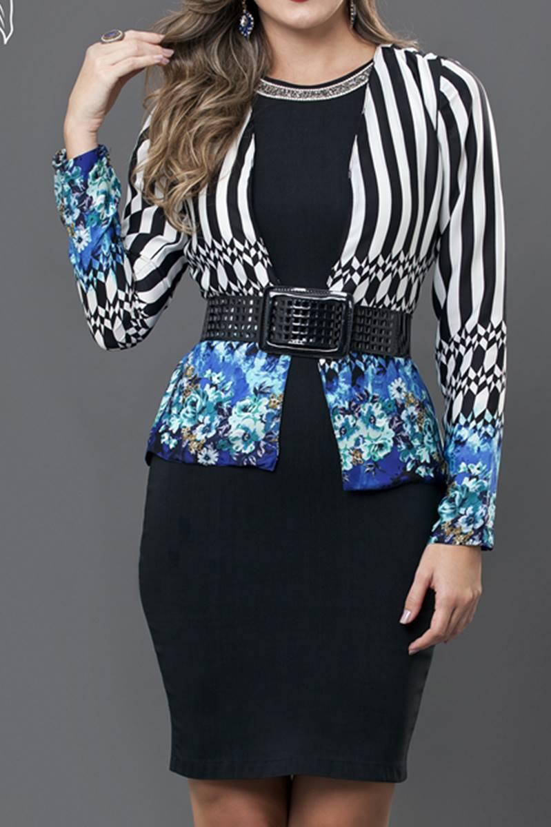Vestido Bella Herança Cantareira 6529