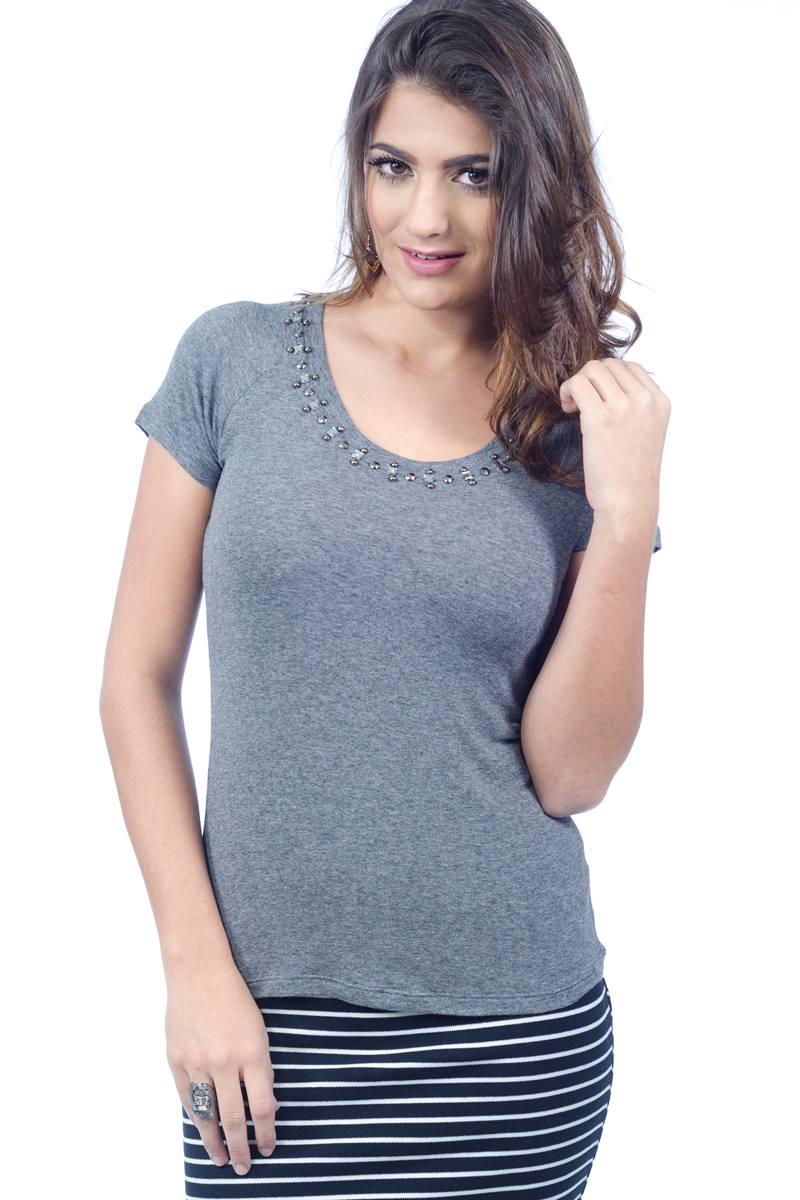 Blusa Kabene Grey 4839