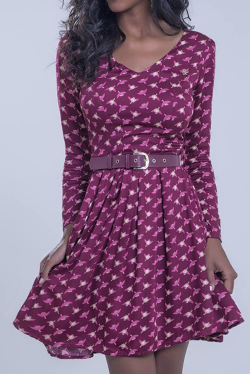 Vestido Mulata Café Princesa Aurora 3107