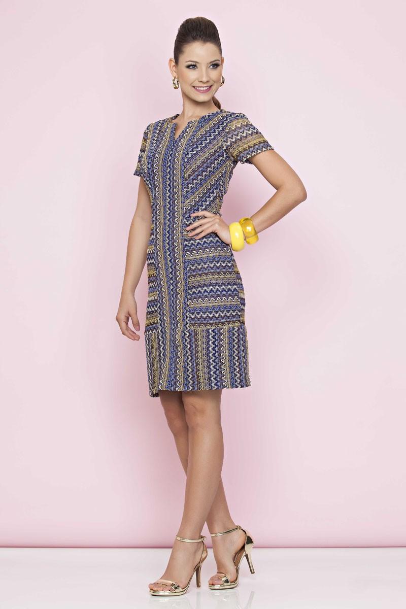 Vestido Natany Luciana Pais - 1068LP
