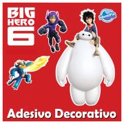 Kit Decorativo Quarto Big Hero