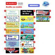 Kit Identifix 01 Meninos - 19 Adesivos