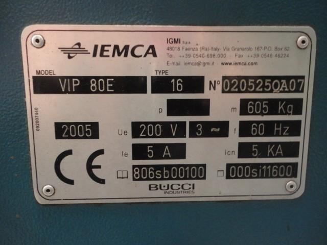 Alimentador de Barras Iemca VIP 80E  - AEG Comercial