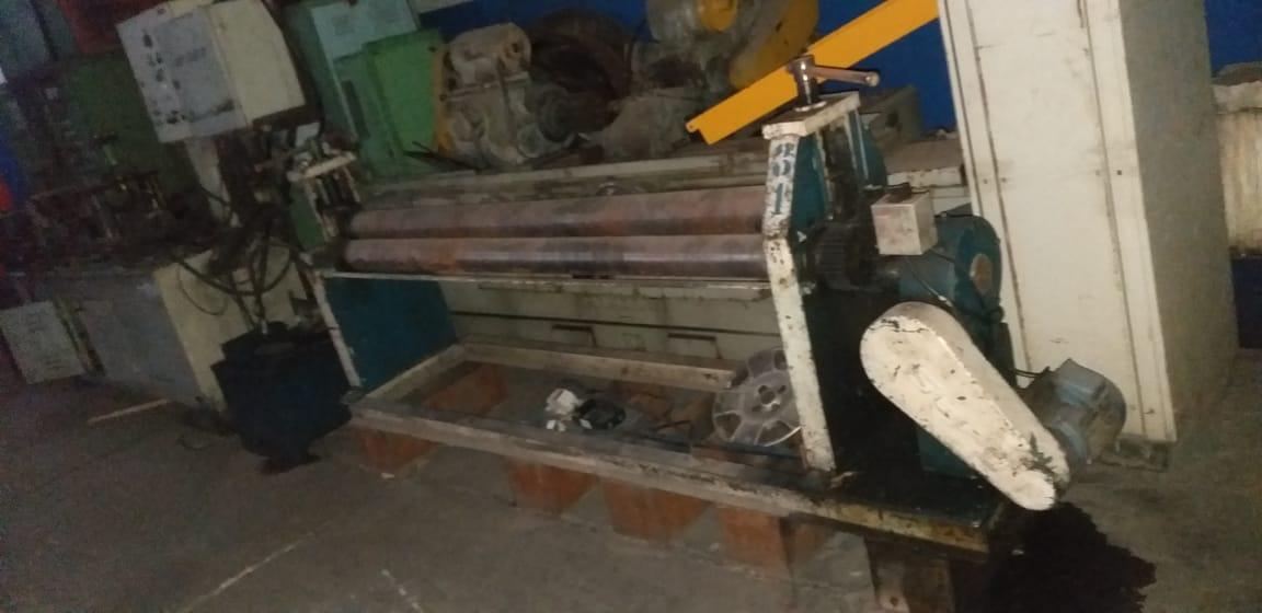 Calandra de Tubos 2000mm de comprimento, até 6mm  - AEG Comercial