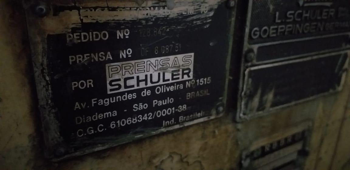 Desbobinador de Chapas Schuler   - AEG Comercial