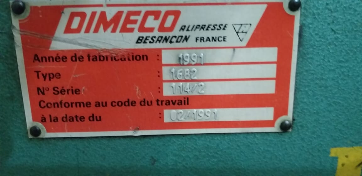 Endireitador de Chapas marca Dimeco  - AEG Comercial