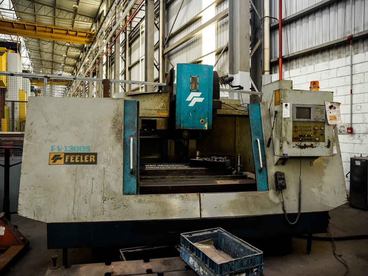 Centro de Usinagem CNC marca Feller #29-1004  - AEG Comercial
