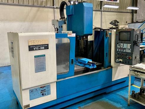 Fresadora CNC Mazak VTC 20 B 500mm x 1120mm   - AEG Comercial