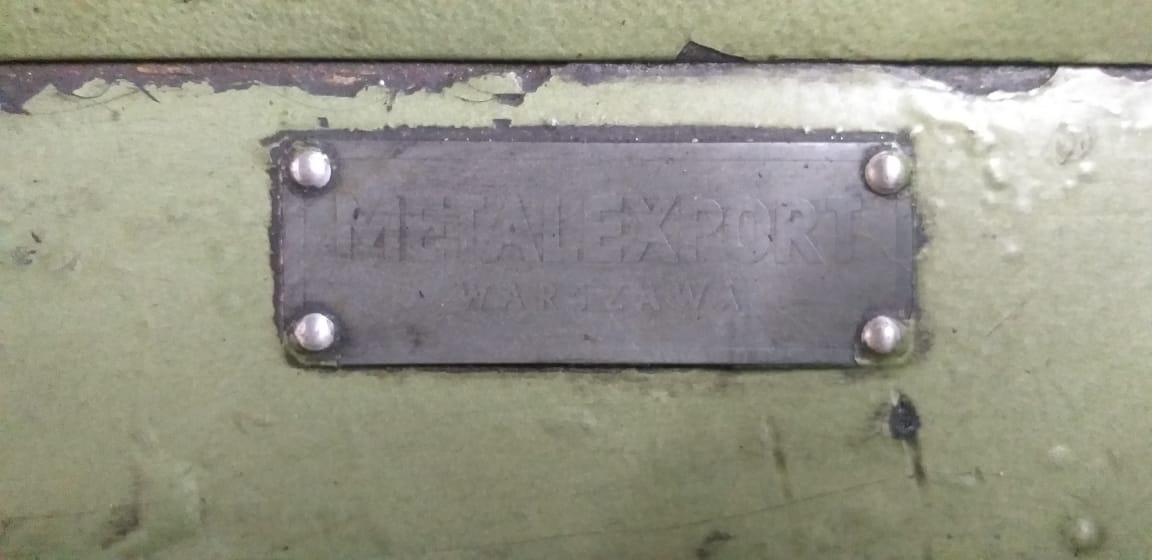 Fresadora Universal marca MetalExport 1000mm de mesa   - AEG Comercial
