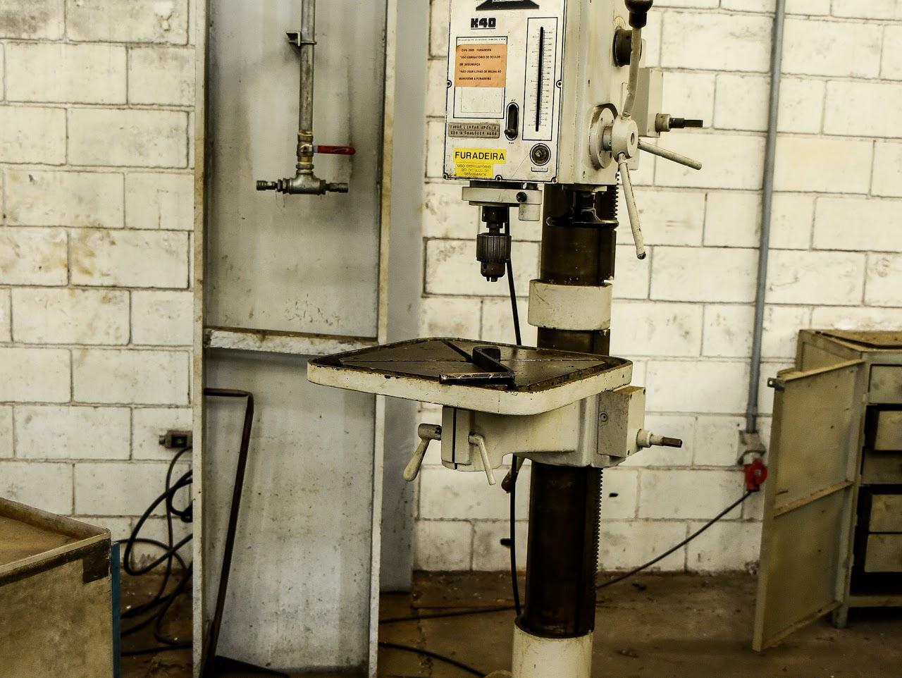 Furadeira de Coluna Kone K40 #1003  - AEG Comercial