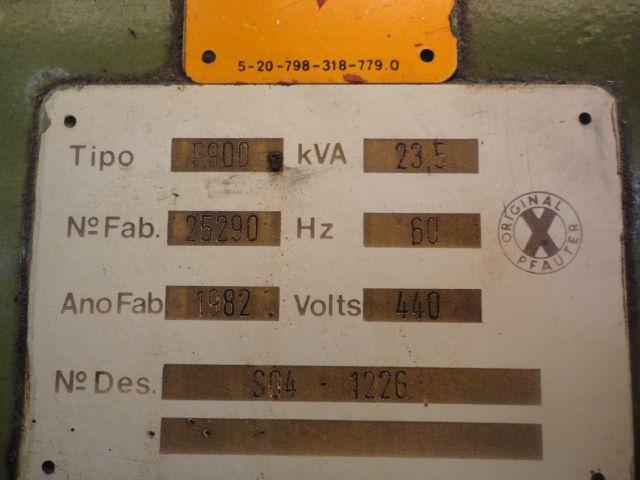 Geradora de Engrenagens HOB. Pfauter P900 12mm  - AEG Comercial