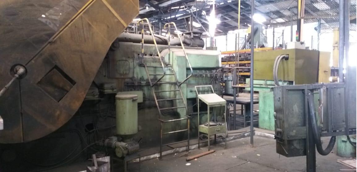 Horizontal Repressing Press Brand Smeral, model LKH 1200 S  - AEG Comercial