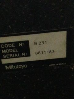 Medidor Tridimensional Mitutoyo  - AEG Comercial