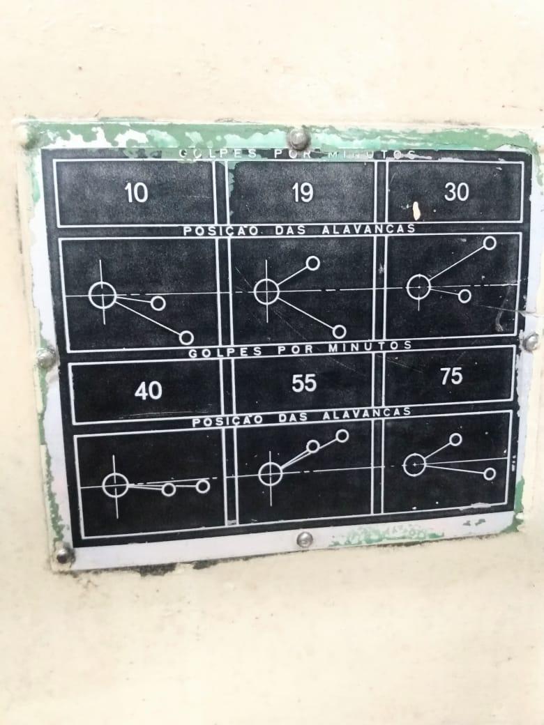 Plaina de mesa marca zocca 800 mm _6 velocidades   - AEG Comercial