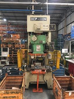 Prensa Excêntrica Chin Fong 110 ton 1150mm x 600mm #1092  - AEG Comercial