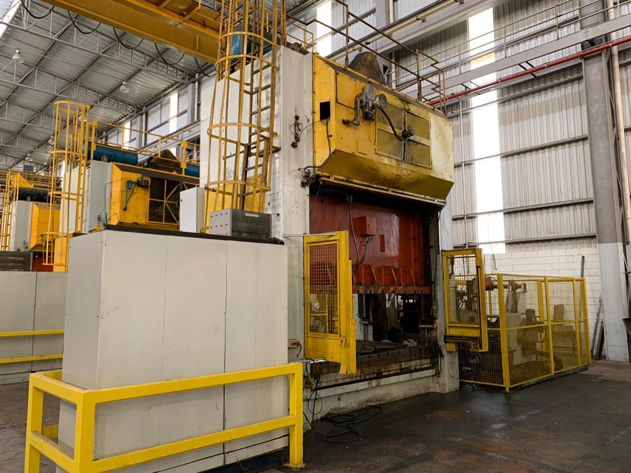 Prensa Excêntrica Fagor 630 ton 3000mm x 1800mm #1204  - AEG Comercial