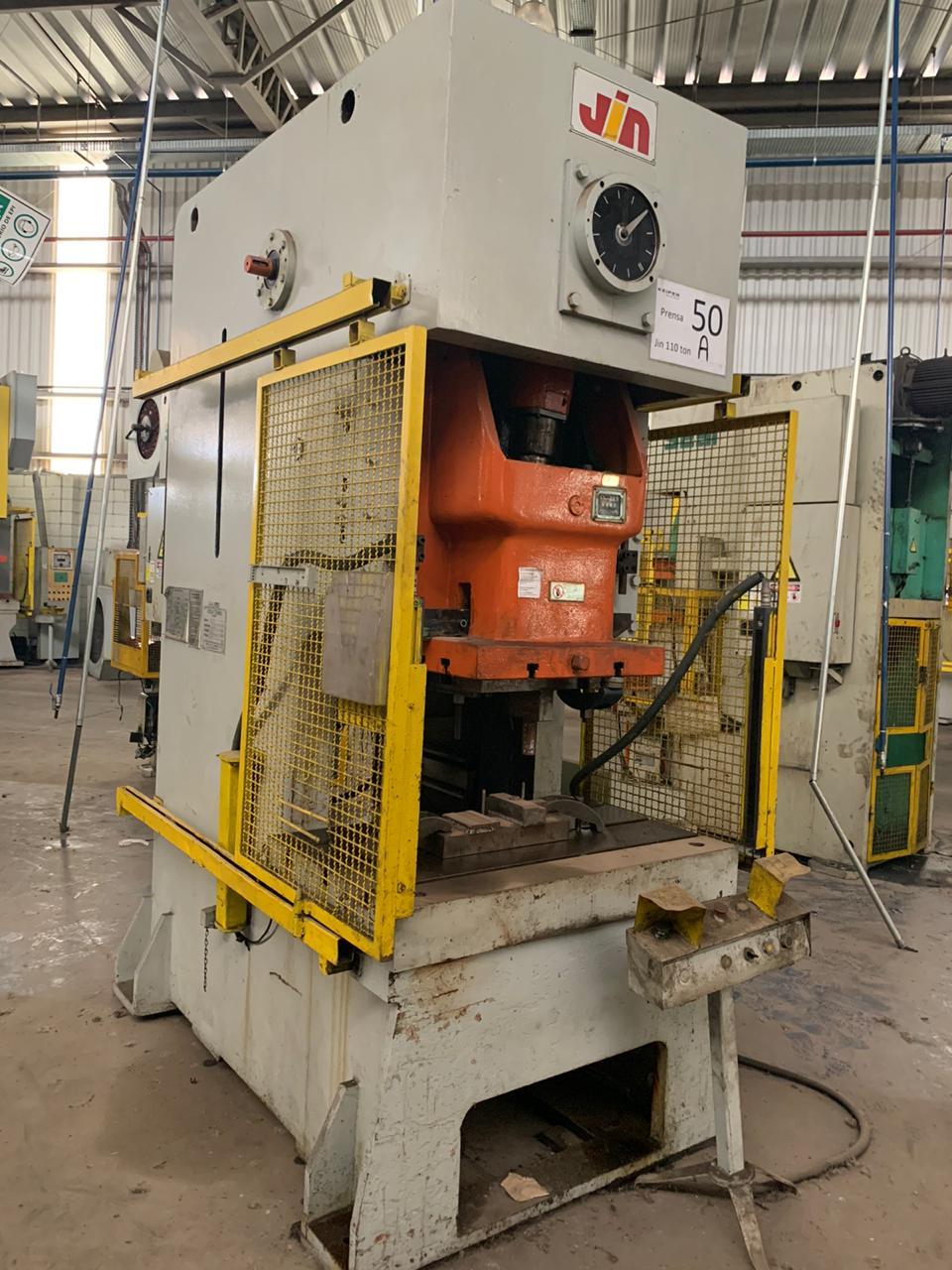 Prensa Excêntrica Jin 110 ton #50A  - AEG Comercial