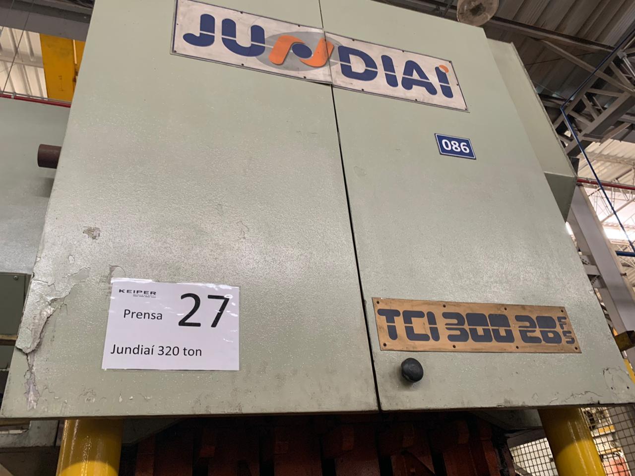 Prensa Excêntrica Jundiaí 300 ton #7-1227  - AEG Comercial