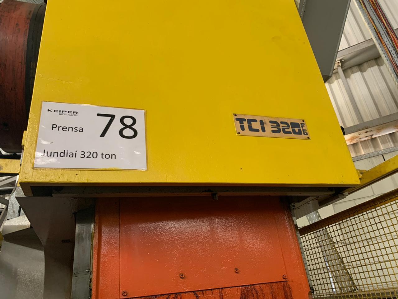 Prensa Excêntrica Jundiaí 320 ton  #10-1278  - AEG Comercial