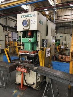 Prensa Excêntrica Seyi 110 ton 1150mm x 680mm  - AEG Comercial