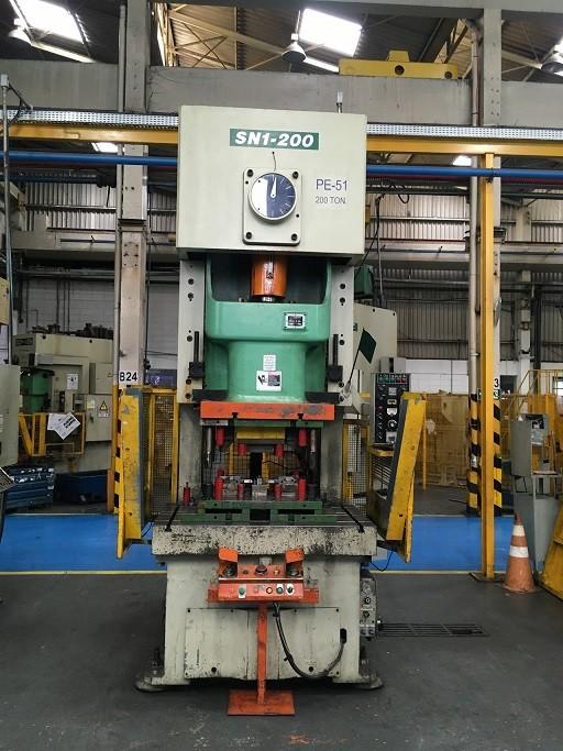 Prensa Excêntrica Freio Fricção Marca Seyi 200 ton #22-1126  - AEG Comercial