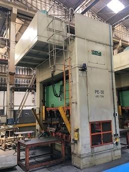 Prensa Excêntrica F.F Seyi 400 ton,   - AEG Comercial