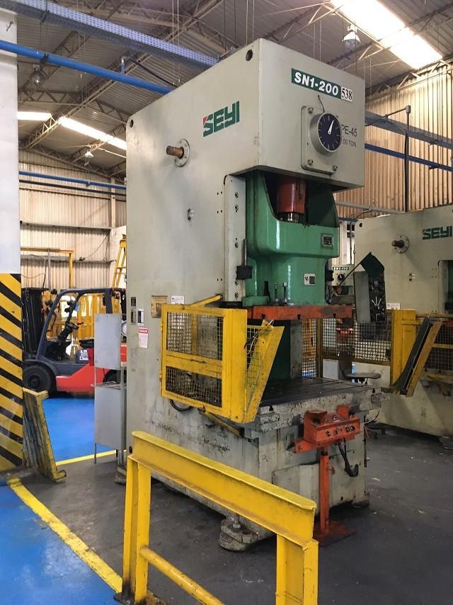 Prensa Exc Freio Fricção tipo C  Seyi capacidade 200 ton  #23-1127  - AEG Comercial