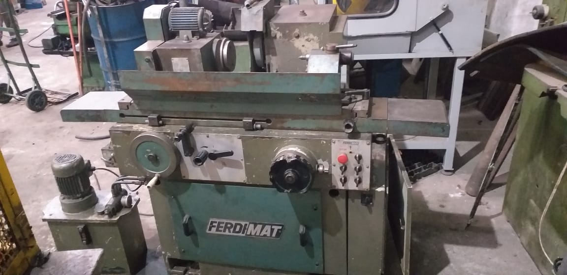 Retífica Plana marca Ferdimat 800 mm  - AEG Comercial