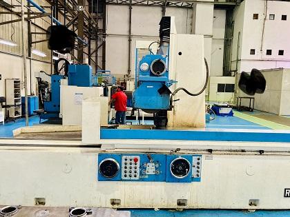 Retífica Plana Zema RT1200 680mm x 2500mm   - AEG Comercial