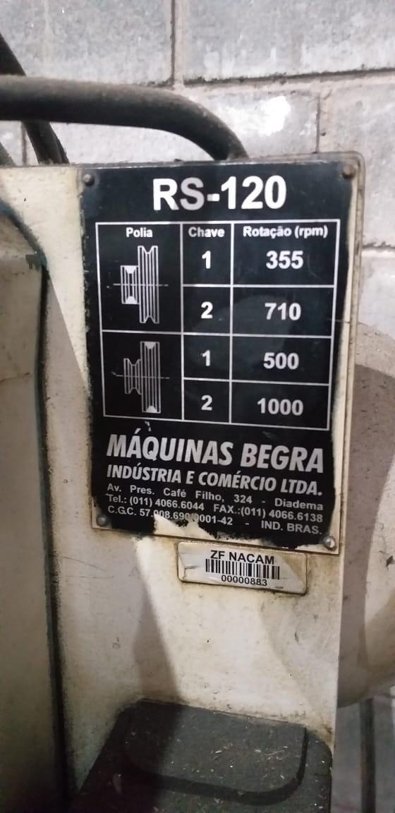 Rosqueadeira Begra modelo RS-120  - AEG Comercial