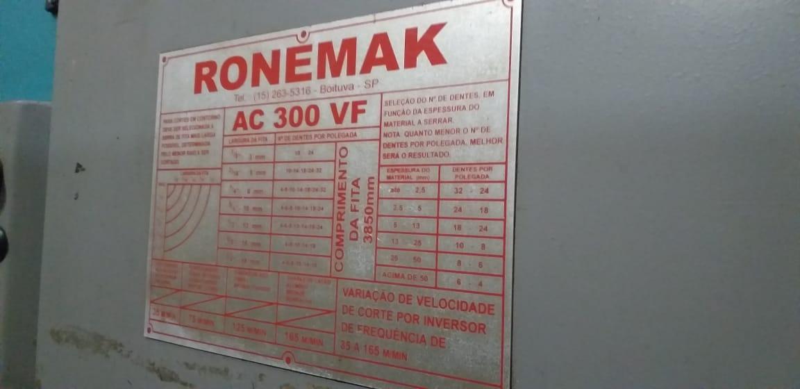 Serra de fita horizontal marca Alfing modelo AFS 02-250  - AEG Comercial