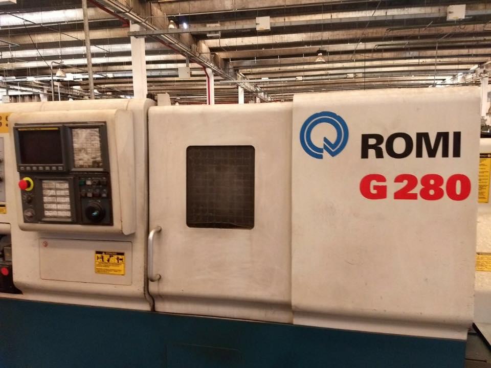 Torno CNC Romi G 280