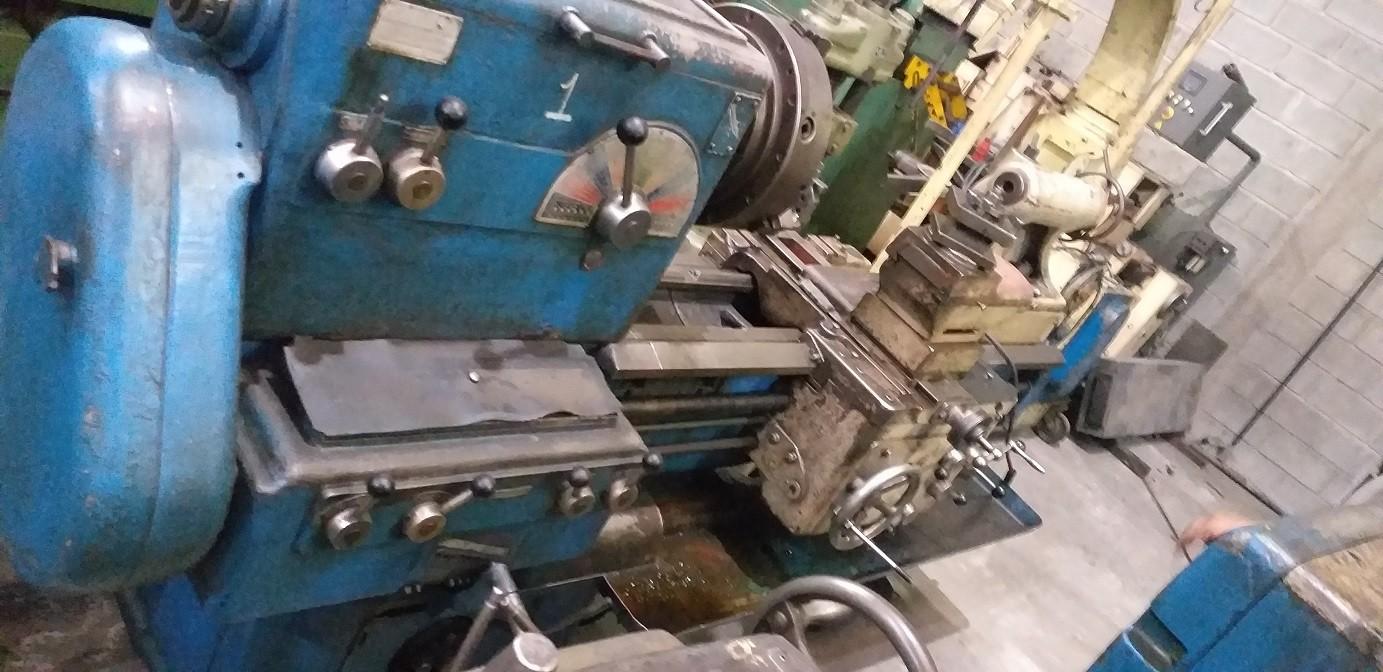 Torno Mecânico Industrial Meuser & CO 1200mm entre pontas  - AEG Comercial