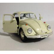 Fusca Bege Volkswagen  - Escala 1:32