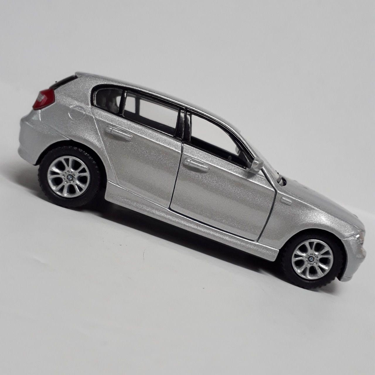 BMW Cinza 1 séries  - Escala 1:32