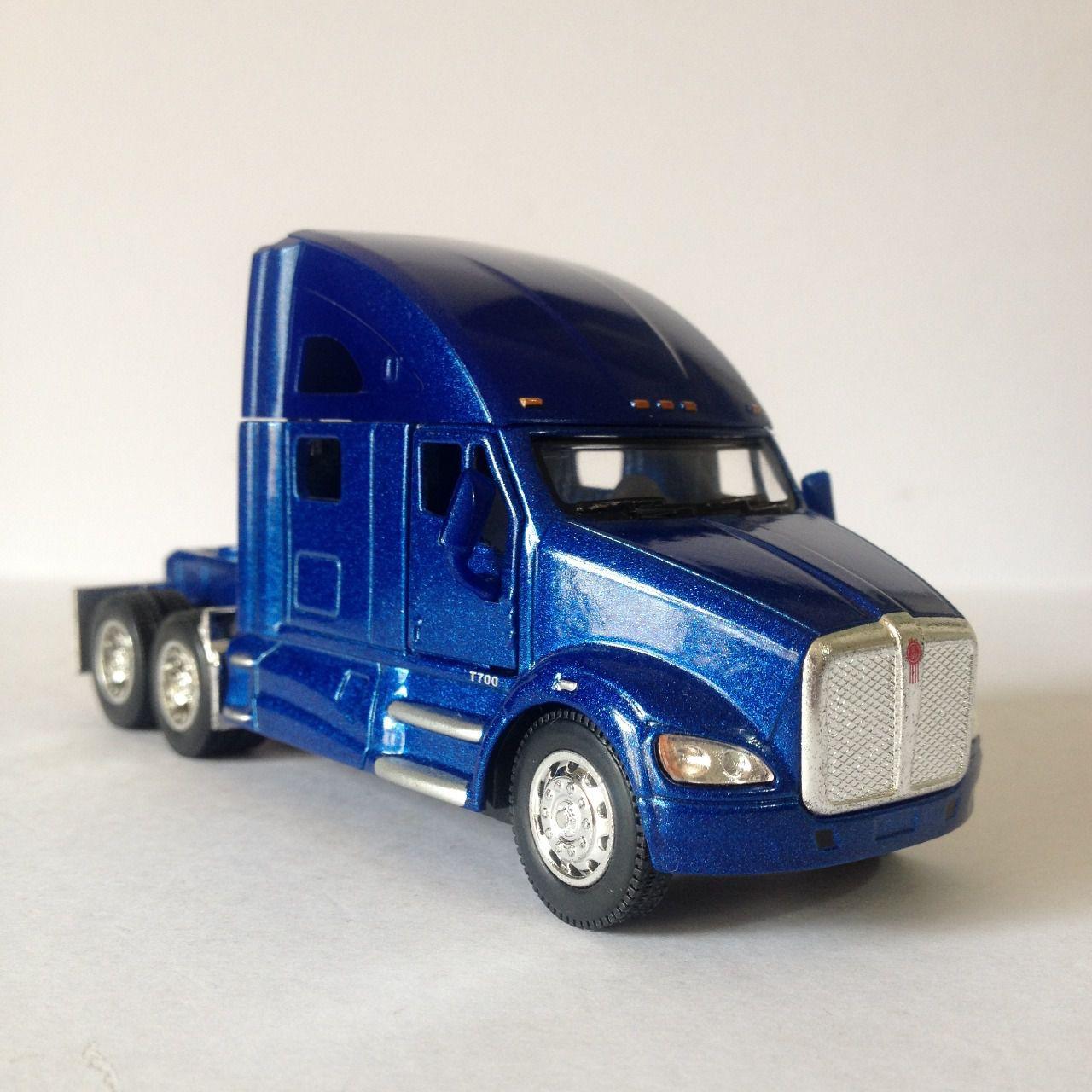 Caminhão Kenworth T7000 Azul - Escala 1:32