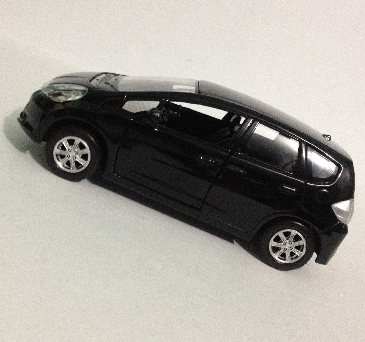 Honda Fit Preto - Escala 1:32