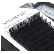 Cílios Nagaraku Mix Tamanhos ( 7 Ao 15mm) Espessura 0.07C