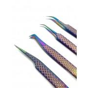 Quarteto de Pinças Tudobuni Multicolor
