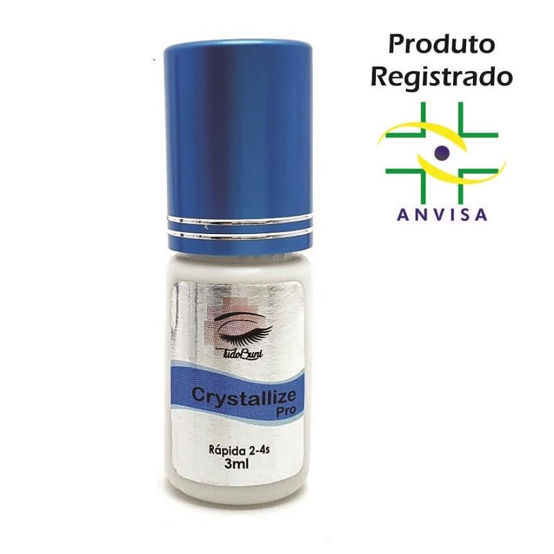 Cola Profissional para Extensão de Cílios - Crystallize Pro 3ml