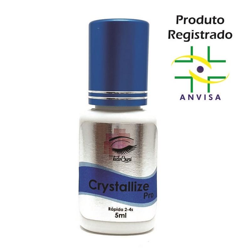 Cola Profissional para Extensão de Cílios - Crystallize Pro 5ml