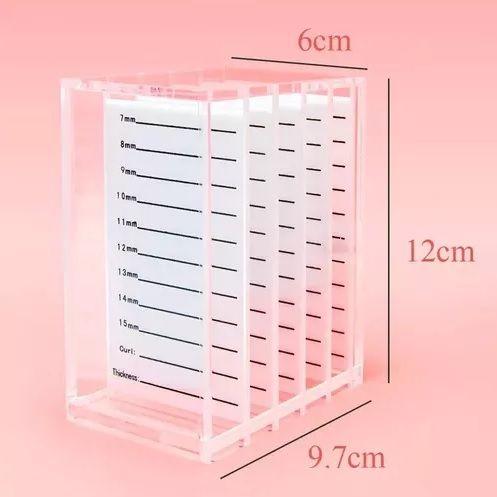 Box de Acrílico TudoBuni com 5 Paletas
