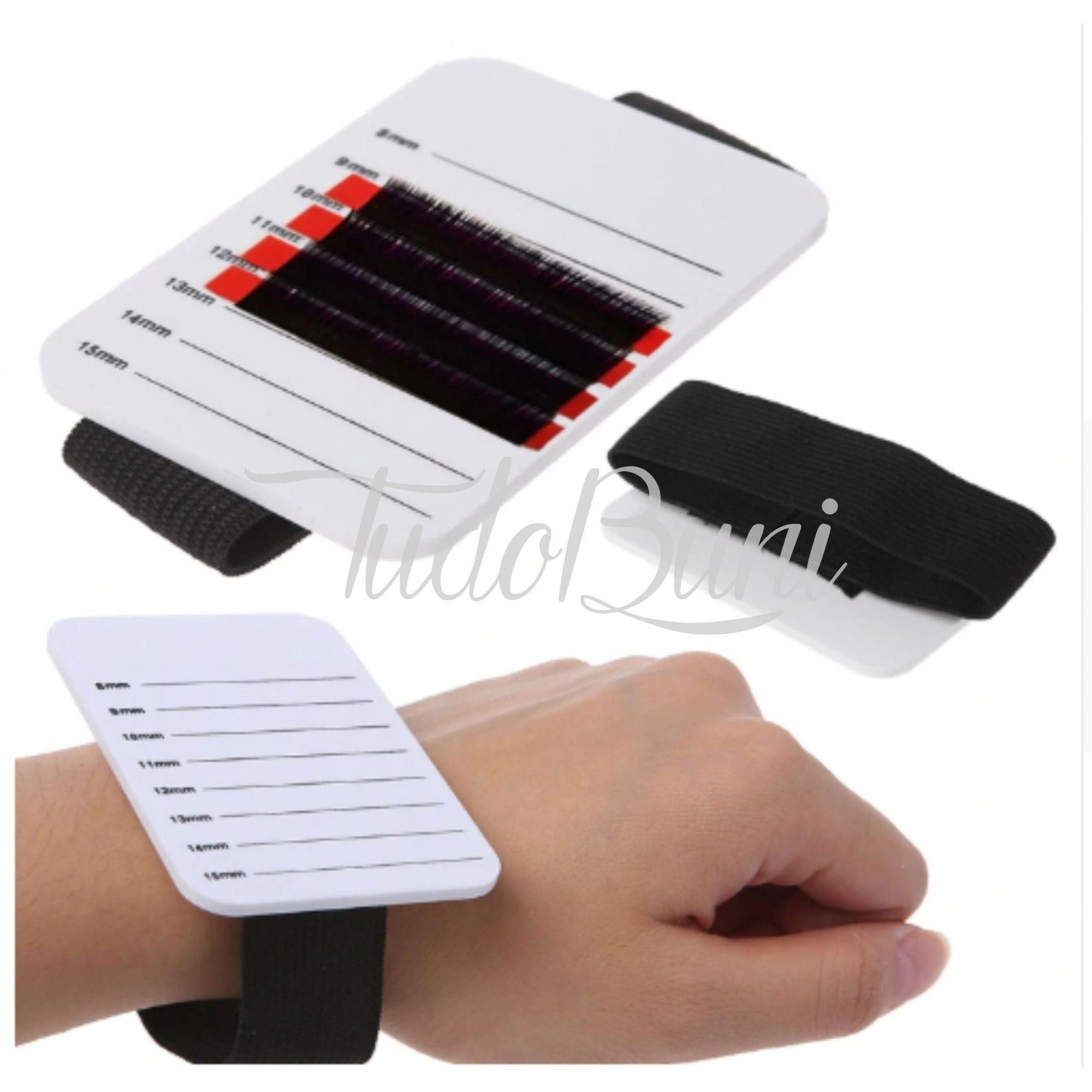 Paleta De Mão Regulável Para Extensão De Cílios Hand Palet