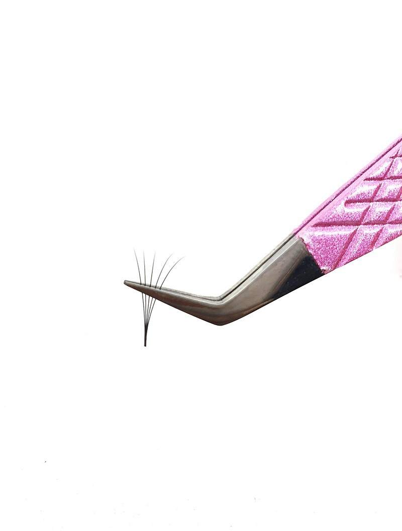Pinça TudoBuni Rosa Brilhante - Volume Blend