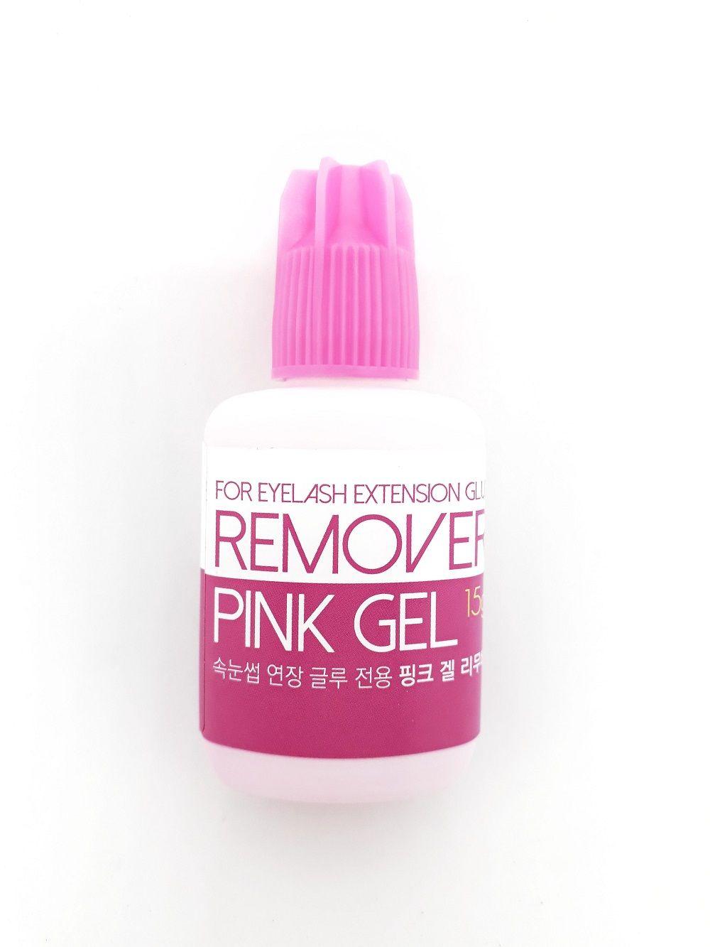 Removedor De Cola Para Cílios Pink Gel - 15g