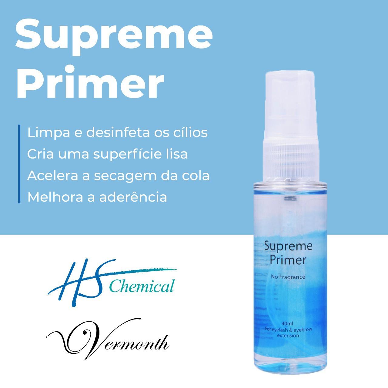 Supreme Primer Pré Extensão/Alongamento De Cílios