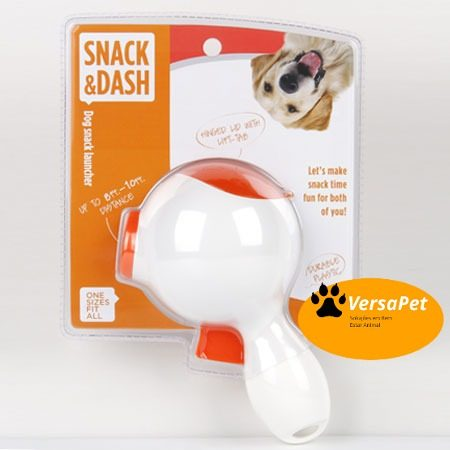 Lançador De Ração P/ Cães Snack E Dash